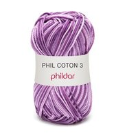 Phildar Phil Coton 3 kleur 0202 Jacinthe