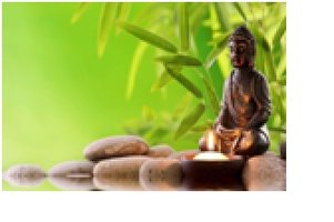 Diamond-Painting Budha op stenen 50x60 cm