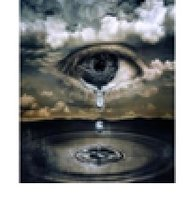 Diamond-Painting Fantasie oog 40x50 cm