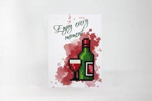 Diamond Paint Card Enjoy Every Moment WC0164