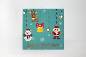 Diamond Paint Card Joyous Christmas WC0206