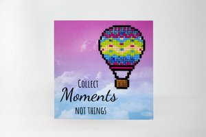Diamond Paint Card Collect Moments, Not Things WC0251