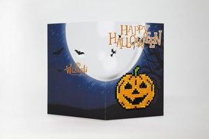 Diamond Paint Card happy halloween WC0344