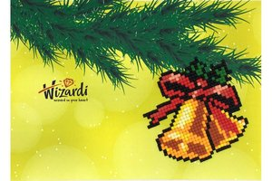 Diamond Paint Card Jingle Bells WD0308