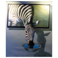 Diamond-Painting Zebra 40x50 cm