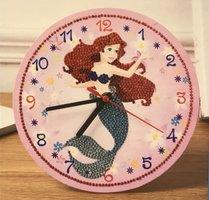 Diamond painting klok Ariel