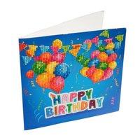 Crystal Card Kit | Diamond painting Happy Birthday