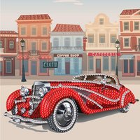 Crystal Card Kit | Diamond painting Classic Car
