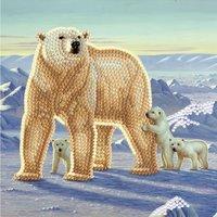 Crystal Card Kit | Diamond painting Polar Family