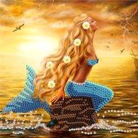 Crystal Card Kit | Diamond painting Mermaid Dreams