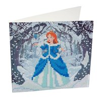 Crystal Card Kit | Diamond painting Enchanted Princess
