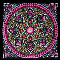 Crystal Card Kit | Diamond painting Mandala