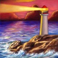 Crystal Card Kit | Diamond painting Lighthouse