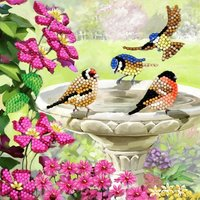 Crystal Card Kit | Diamond painting Birds
