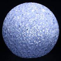 LED lichtbal 8 cm wit