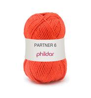 Phildar Partner 6 kleur 0206 Vermillon