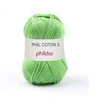Phildar Phil Coton 3 kleur 1415 Pomme