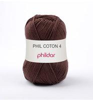 Phildar Phil Coton 4 kleur 1330 Cacao