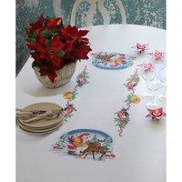 Anchor Santa tablecl 140x240