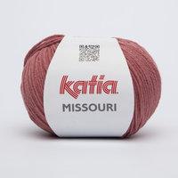 Katia Missouri kleur 21 Zeer donker bleekrood
