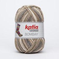 Katia Bombay Socks kleur 50 Bruin