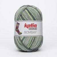 Katia Bombay Socks kleur 51 Groen-Grijs