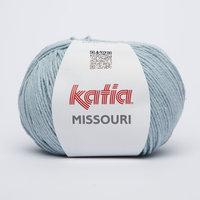 Katia Missouri kleur 28 Waterblauw
