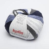 Katia Tropicana kleur 301 Jeans Licht jeans Grijs
