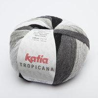 Katia Tropicana kleur 302 Licht grijs Grijs Donker grijs