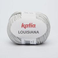 Katia Louisiana kleur 64 Parelmoer lichtgrijs