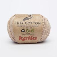 Katia Fair Cotton kleur 12 Sepiabruin