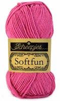 Scheepjes SoftFun kleur 2495 Fuchsia