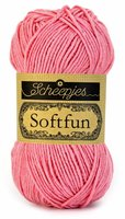 Scheepjes SoftFun kleur 2514 Donker Roze