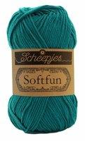 Scheepjes SoftFun kleur 2604 Blauw Groen