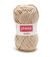 Phildar Aviso kleur 0002 Ficelle