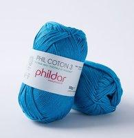 Phildar Phil Coton 3 kleur 0060 Pacifique