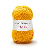 Phildar Phil Coton 4 kleur 0077 Tournesol