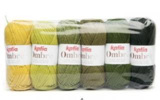 Katia Ombre Wol kleur 8