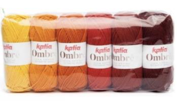 Katia Ombre Wol kleur 7