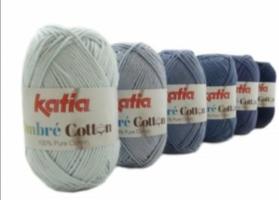 Katia Ombre Cotton kleur 1