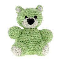 DIY Haakpakket Billie Bear Eco Barbante Kit Lima (groen) + Aldmond (ecru)