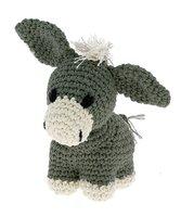 DIY Haakpakket Donkey joe Kit Eco Barbante ASPEN (mosgroen) + Almond (ecru)