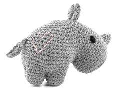 DIY Haakpakket Rhino Eco Barbante Kit lava