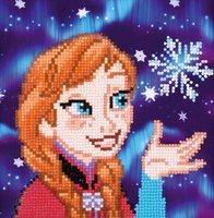 Vervaco Diamond Painting Kit Disney Frozen Anna