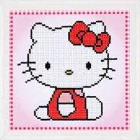 Vervaco Diamond Painting Kit Hello Kitty