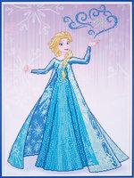 Vervaco Diamond Painting Kit Disney Frozen Elsa tovert