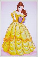 Vervaco Diamond Painting Kit Disney Belle