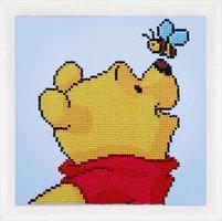 Vervaco Diamond Painting Kit Disney Pooh Met Vlinder