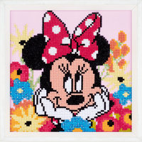 Vervaco Diamond Painting Kit Disney Minnie Dagdroomt
