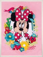 Vervaco Diamond Painting Kit Disney Minnie ssscht
